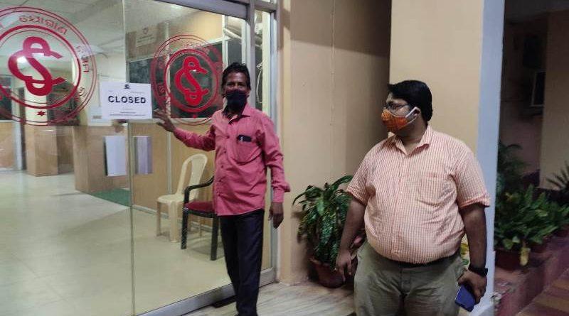 Odisha Civil Supplies Corporation office sealed