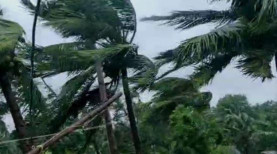 cyclonic storm Yaas makes landfall along Odisha coast