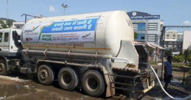 Liquid Medical Oxygen tankers