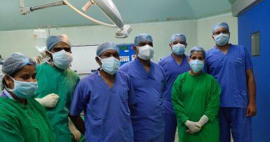 SUM surgeons perform rare surgery
