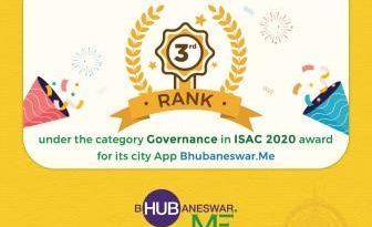 Bhubaneswar wins two awards in India Smart City Awards