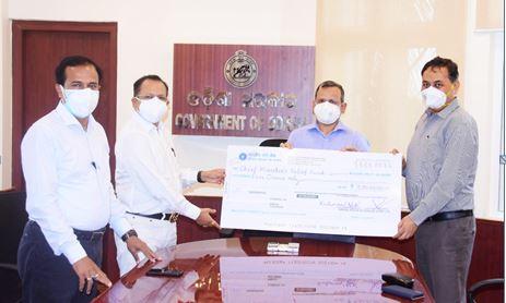 OSBC donates Rs 5 cr to CMRF