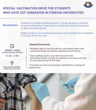 COVID vaccine for students
