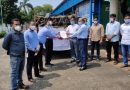 AM/NS India delivers oxygen cylinders to Paradip Port Trust