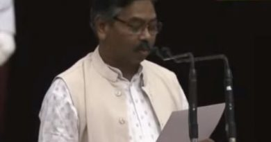 Bishweswar Tudu takes oath as Union Minister