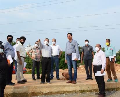 parallel roads from Jayadev Vihar to Nandankanan