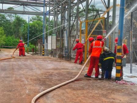 Vedanta organises fire mock drill