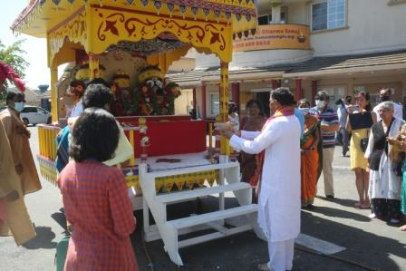 Rath Yatra at Fremont Hindu Temple