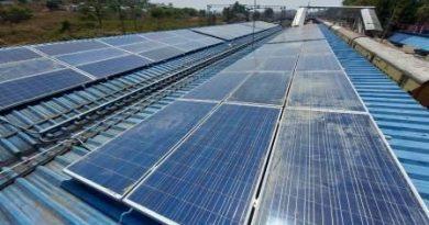 Rooftop solar plant at Koraput railway station
