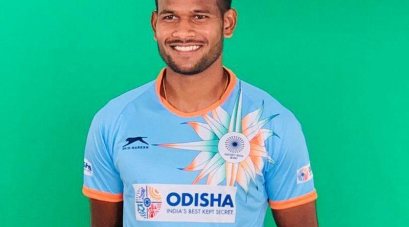 Amit Rohidas on awarded Biju Patnaik Sports Award