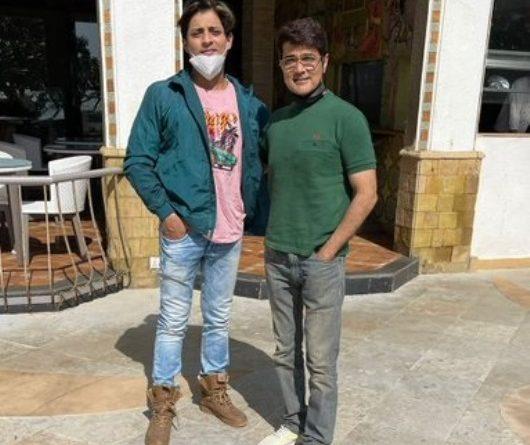 Babushaan meets superstar