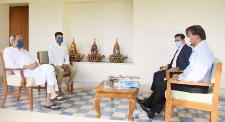 ArcelorMittal executive chairman meets Odisha CM
