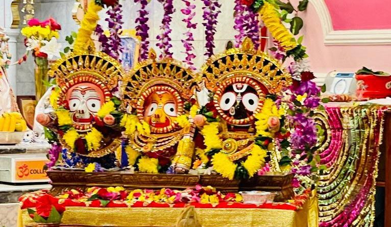 Jagannath's idol installation ceremony in Manchester