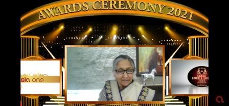 International honour to Savitri Jindal