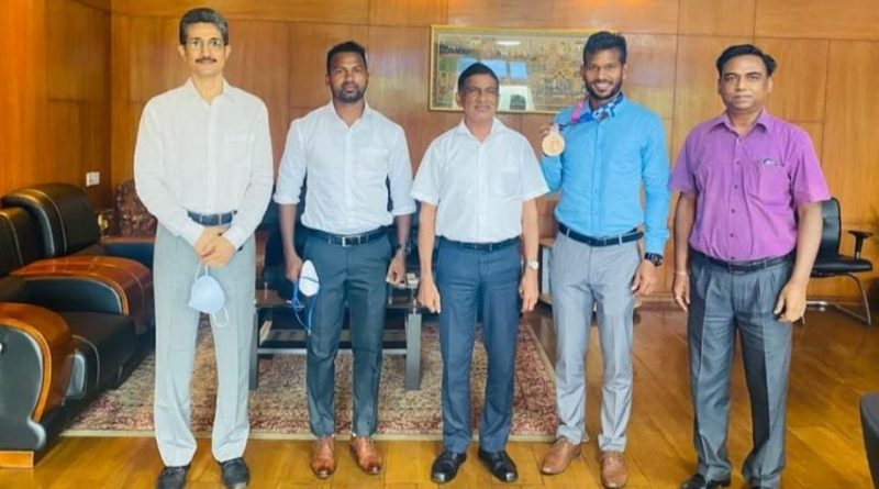 Amit Rohitdas joins as sports officer