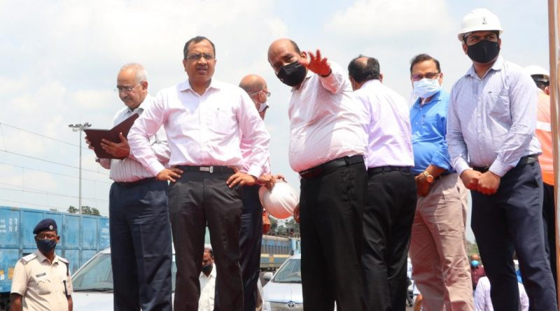 foundation stone of Rs 311 cr FMC project in Sundergarh