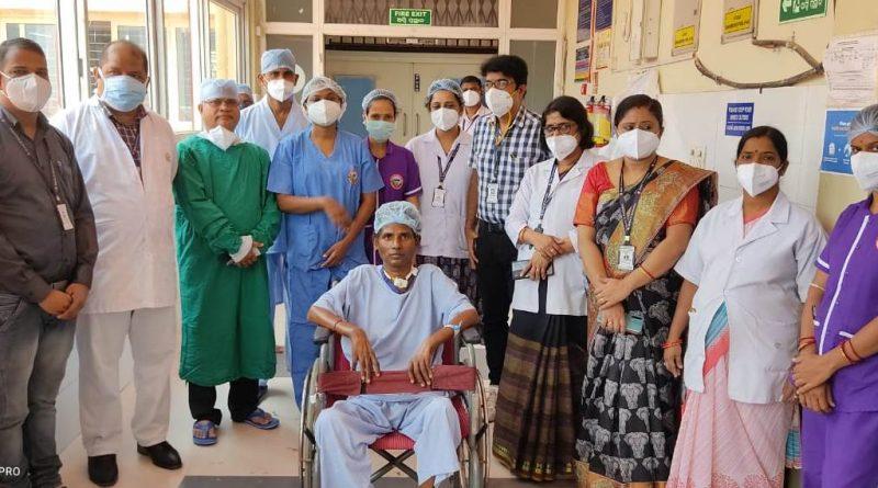 SUM doctors turn around Covid afflicted patient