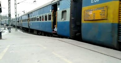 Hirakhand Express with modern LHB coaches