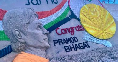 Pramod Bhagat wins gold
