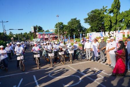 Bhubaneswar organizes all-women cyclothon